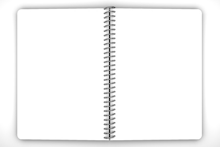 Notebook blank photo