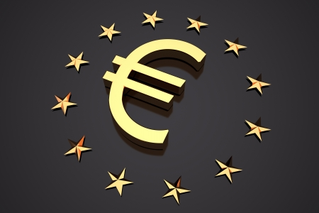 euro currency symbol photo
