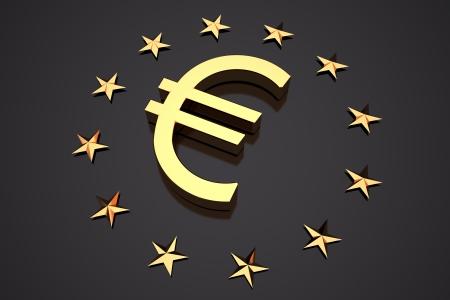 eu flag: euro currency symbol