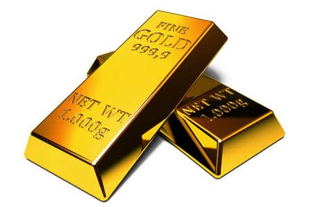 gold bars: Set of gold bars