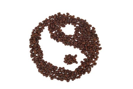metaphysic: coffee Yin Yang