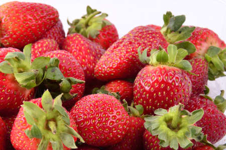 Collection of strawberries photo