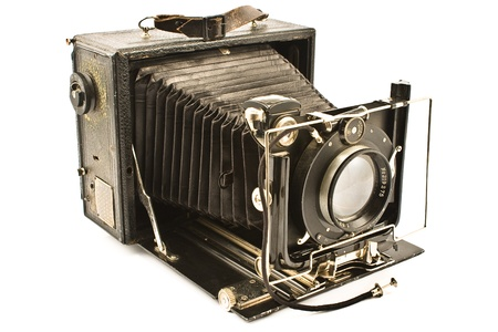 Antique Old Camera  Stock Photo