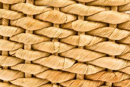 Woven straw pattern texture Stock Photo - 9112609