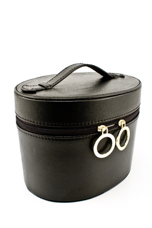 Women's black bag isolated on white Stock Photo - 10503622