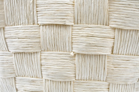 Woven straw pattern texture photo