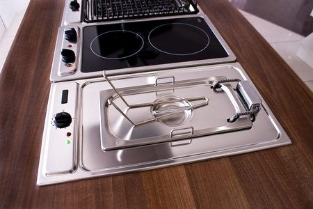 Stove for modern kitchen Stock Photo - 14125931