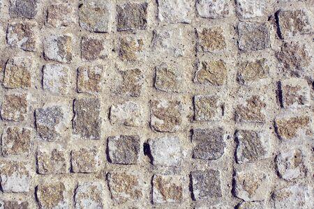 expedient: Cobblestone ground as background