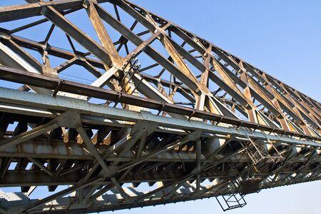Old railway bridge over the blue sky Stock Photo - 14754070