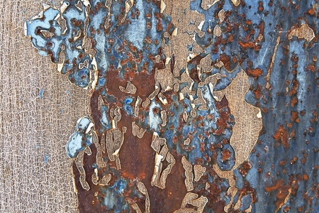 Rusty metal texture as background Stock Photo - 14870370