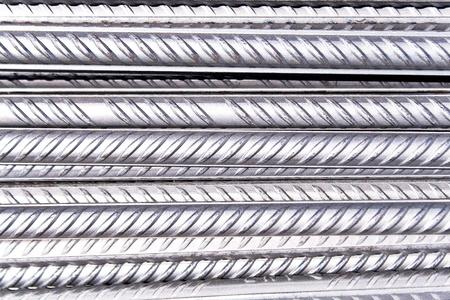 Steel rod as background