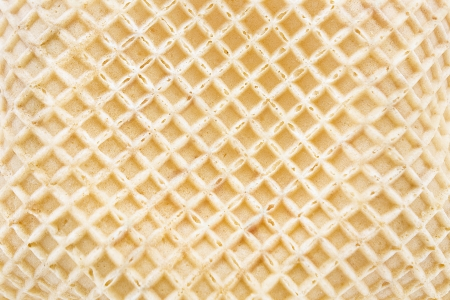 Ice cream cone texture as background