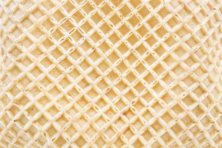 Ice cream cone texture as background