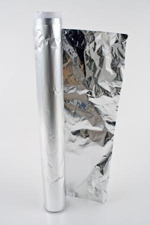 Aluminum foil Stock Photo - 17193252