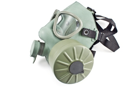Gas mask isolated on white background Stock Photo - 18200830