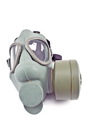 Gas mask isolated on white background Stock Photo - 18601562