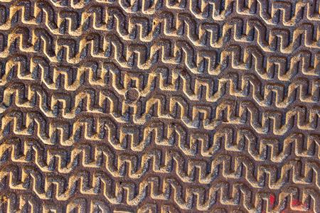 Iron pattern texture  Stock Photo - 22543200