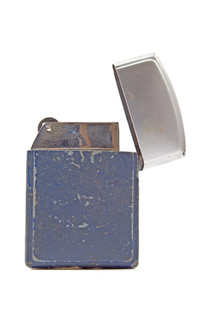Vintage lighter isolated on white Stock Photo - 24968055