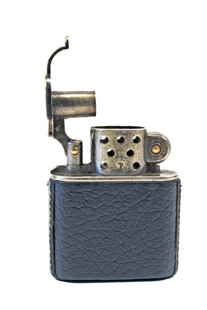 Vintage lighter isolated on white Stock Photo - 24983870