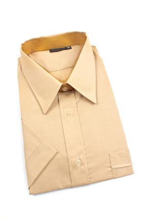 short sleeve: Shirt with short sleeve isolated on white