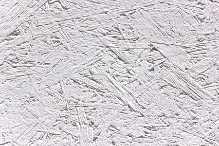 White wood chipboard texture as background