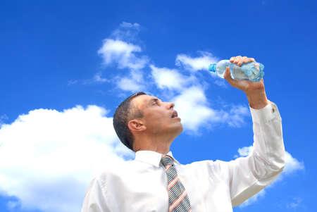 vivifying: sweet restorative water slake thirst be tired businessman