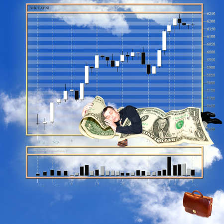 exchange prices  in  tender upon heaven monetary market changeable Stock Photo - 7986126