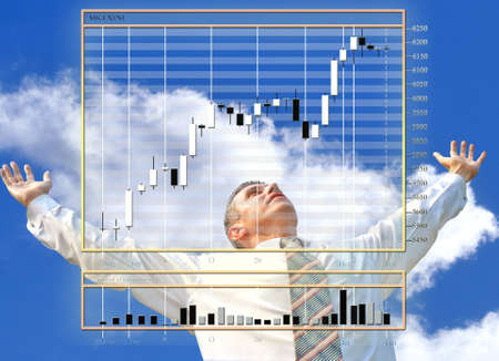 tableau: exchange prices  in currency tender upon  monetary market changeable Stock Photo
