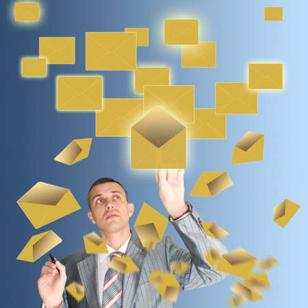 addressee: Electronic the Internet mail delivers the sent information to the addressee instantly