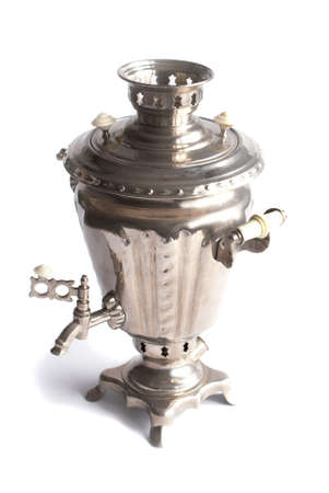 Russian samovar- ancient tradition of tea drinking Stock Photo - 8153495