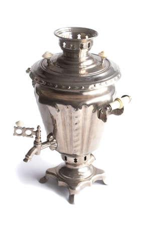 Russian samovar- ancient tradition of tea drinking Stock Photo - 8153495
