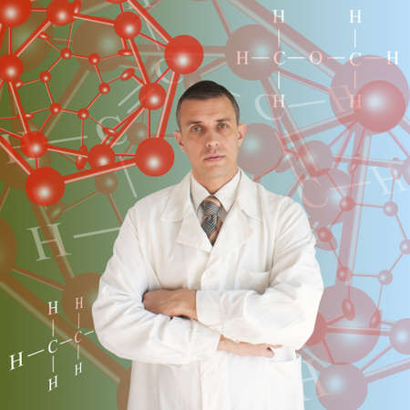 The newest technologies in the field of molecular chemistry and genetics Stock Photo - 8277919