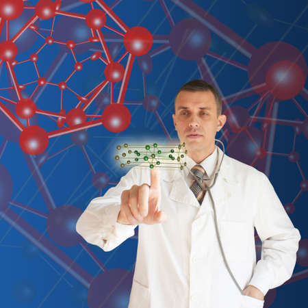 The newest technologies in the field of molecular chemistry and genetics Stock Photo - 8277927
