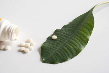 reliever: Modern medical products make of curative plants