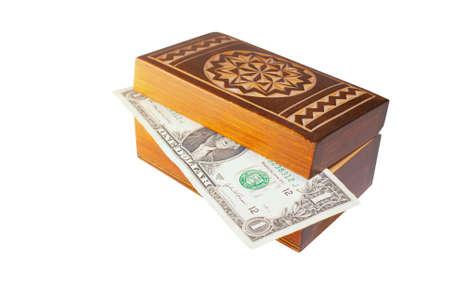 earned: The first earned money develops in a box