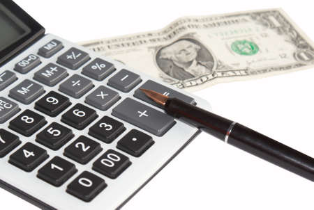 The reliable calculator is necessary for exact conducting financial business photo