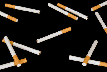 bad habit: Smoking a bad habit which fatally influences your health