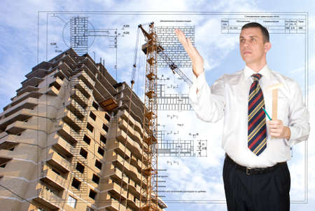 construction draftsman: Engineering designing of residential buildings and office premises is carried out by high quality experts