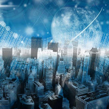 De nieuwste de technologie Internet worden gemaakt in wetenschappelijke laboratoria en instituten