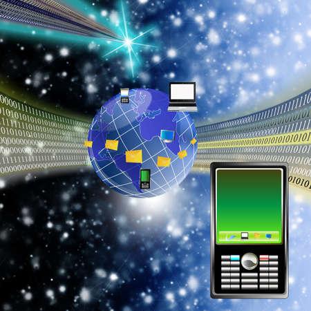 The newest telecommunication technologies Stock Photo - 9391895