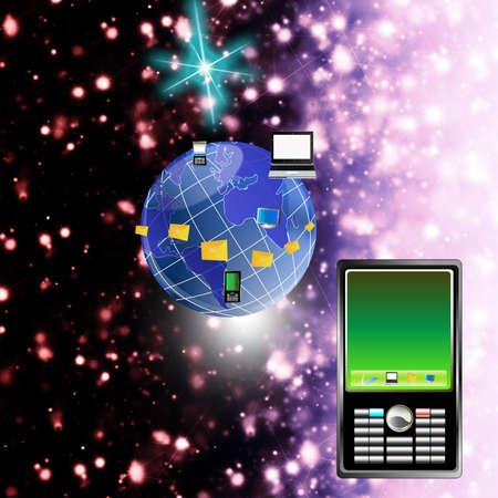 The newest telecommunication technologies photo