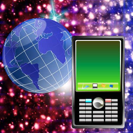 The newest telecommunication technologies Stock Photo - 9391896