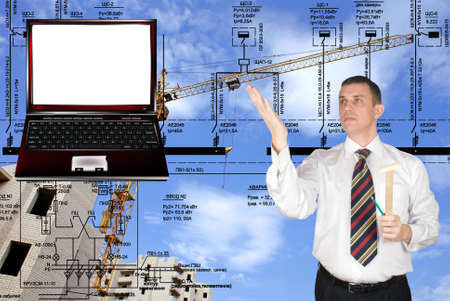 The newest computer maintenance is widely used in building designing photo