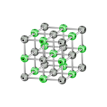 Molecular crystal lattice photo