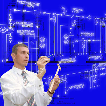 Engineering designing of systems of automation of the industrial power electric equipment photo