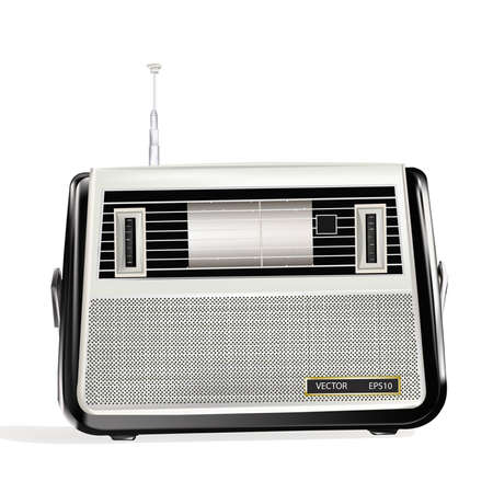 melodies: The retro a radio receiver will present to you warm memoirs and favourite musical melodies