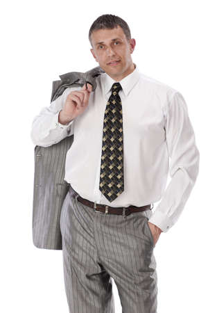faultless: Faultless classical business style in clothes - is success modern men