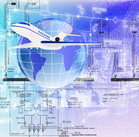 Designing of the newest technologies in sphere of development of the aviation industry photo