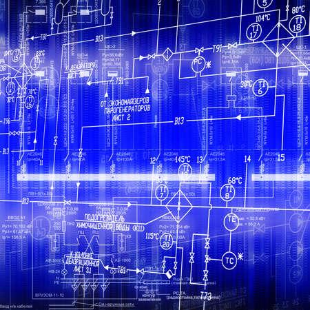 strom: Das elektrische System der Automatisierung der Verbindung eine elektrische Macht-Ausr�stung