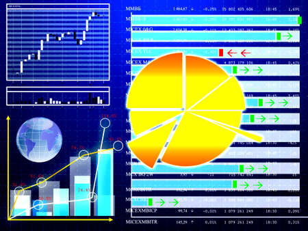 tabulation: Financial stock backgrounds Stock Photo
